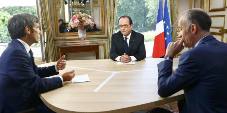 François Hollande campe sur son bilan, un oeil sur 2017