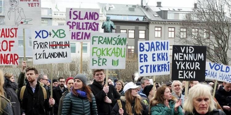 Nouveau Premier ministre en Islande et scrutin à l'automne