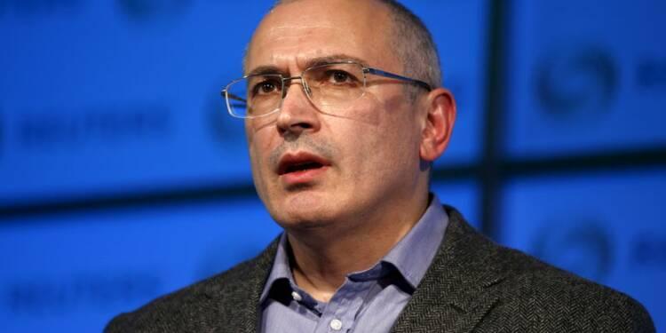 Khodorkovski visé par un mandat d'arrêt international russe