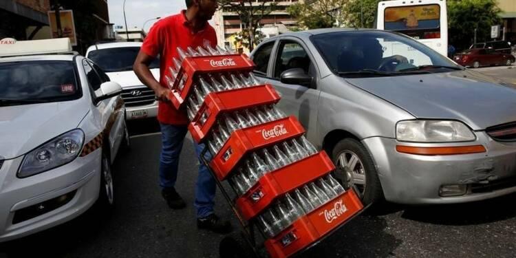 Coca-Cola voit ses ventes baisser pour le 5e trimestre d'affilée