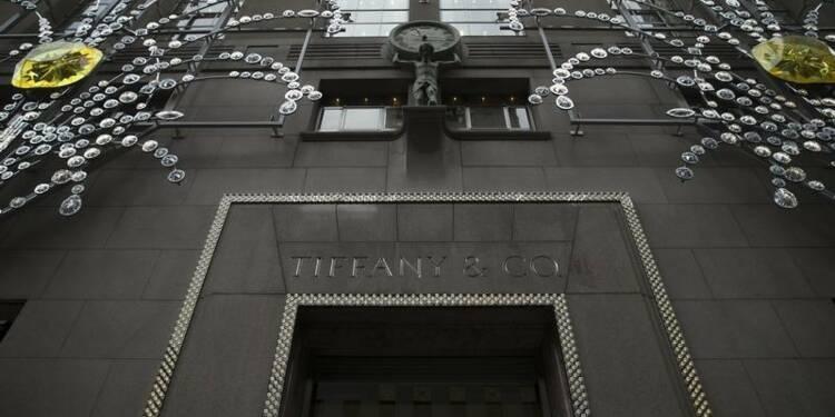 Tiffany déçoit avec une baisse surprise de ses ventes