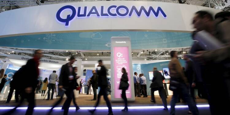 Le chiffre d'affaires de Qualcomm progresse de 3,6%