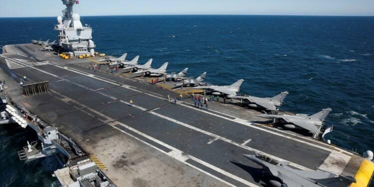 Fin de la mission du Charles-de-Gaulle dans le Golfe