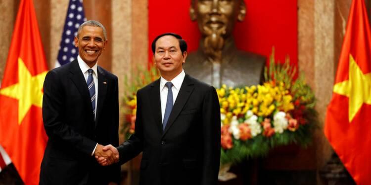 Obama au Vietnam annonce la levée de l'embargo sur les armes