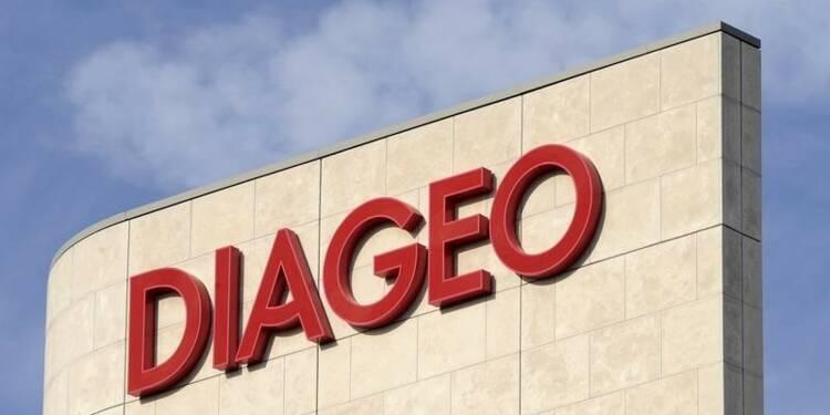 Diageo annonce une croissance organique de 1,8% au 1er semestre