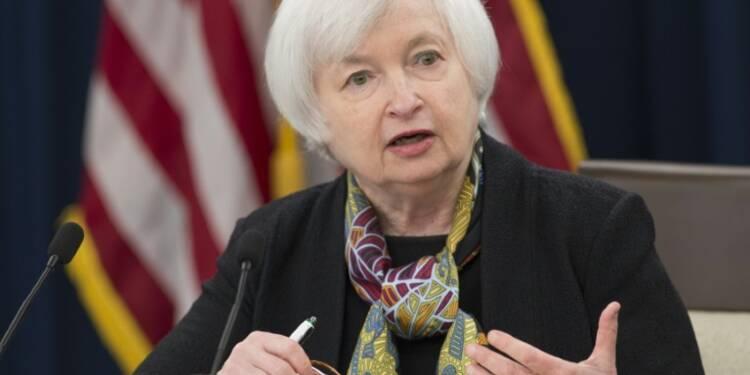 """Etats-Unis: Janet Yellen (Fed) promet une hausse des taux """"dans les prochains mois"""""""