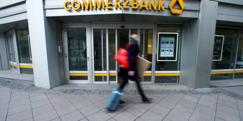 Le bénéfice net de Commerzbank réduit de moitié au 1er trimestre
