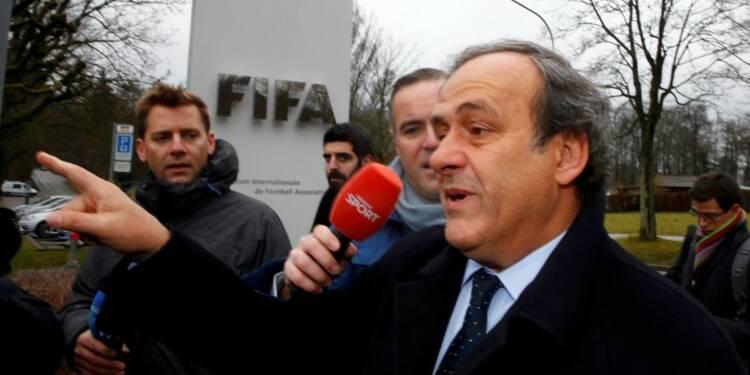 Michel Platini satisfait de son audition en appel devant la FIFA