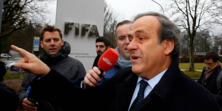 Michel Platini satisfait de son audition en appel devant la FIFA