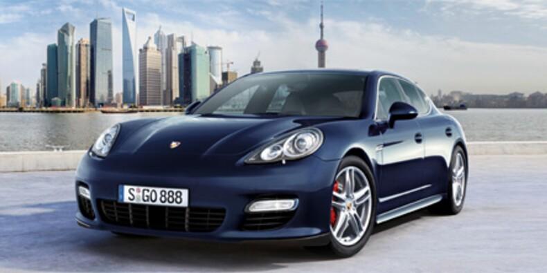 Porsche veut donner un coup d'accélérateur à ses ventes avec la Panamera