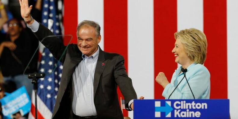 Tim Kaine entre en campagne au côté de Clinton