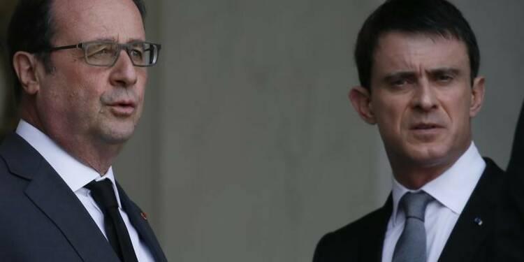 Hollande et Valls espèrent surmonter la tempête par la pédagogie