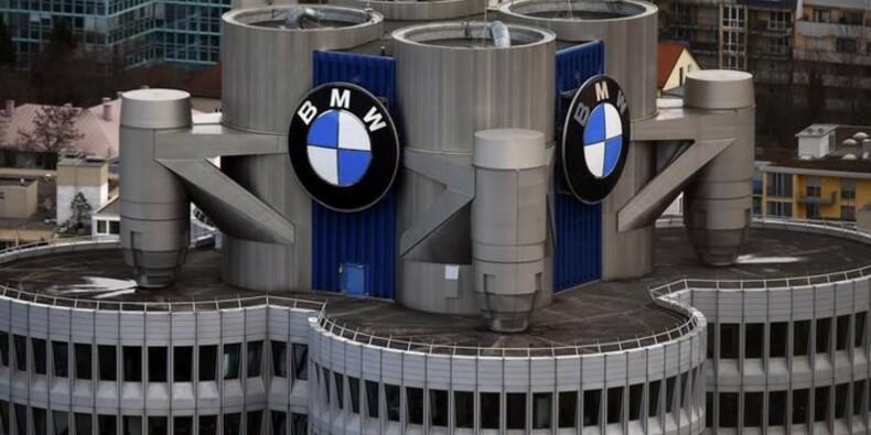 BMW fait moins bien que prévu au 1er trimestre