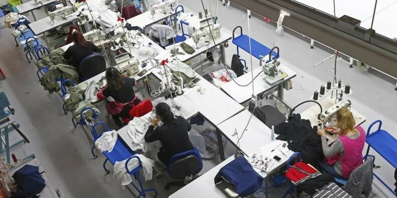 Hausse soutenue de la production industrielle britannique