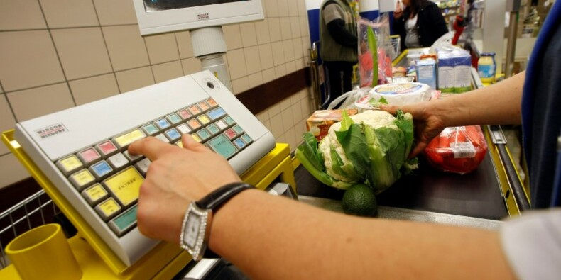 L'inflation reste négative en avril