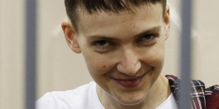 Graciée par Poutine, l'Ukrainienne Savtchenko rentre à Kiev