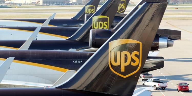 UPS affiche des résultats conformes aux attentes