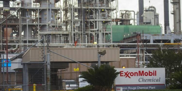 Exxon publie des résultats moins dégradés qu'attendu