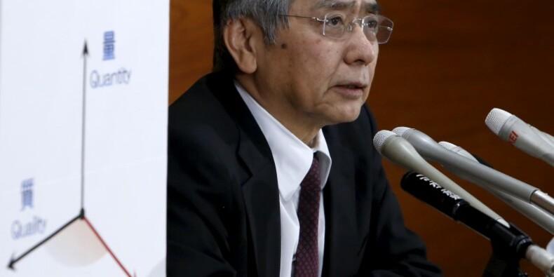 La Banque du Japon surprend avec des taux d'intérêt négatifs