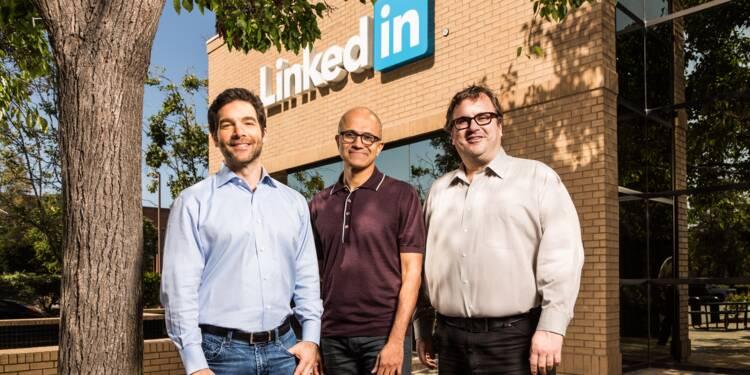 Microsoft veut faire de LinkedIn votre nouveau collègue de travail