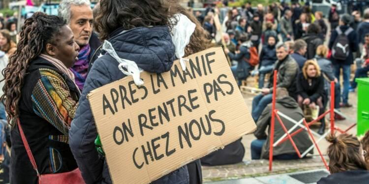 """Loi travail: """"Nuit Debout"""" partout en France après des manifestations émaillées de violences"""