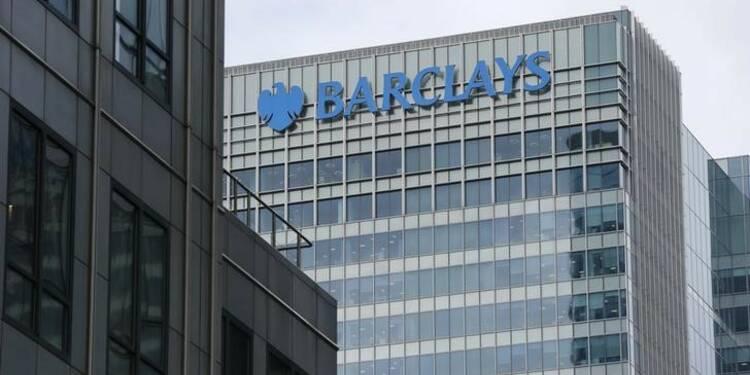 La banque d'investissement pèse sur le trimestre de Barclays
