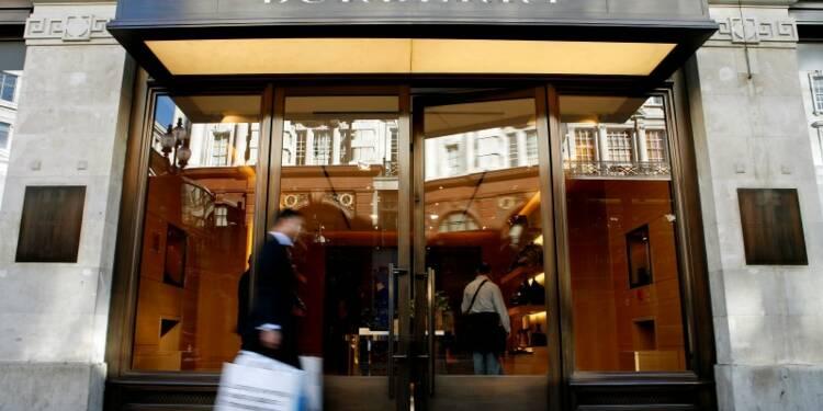 Les ventes de Burberry en baisse de 3% au 1er trimestre