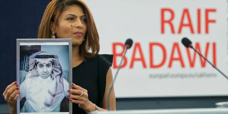 Le blogueur saoudien Badaoui honoré par le Parlement européen