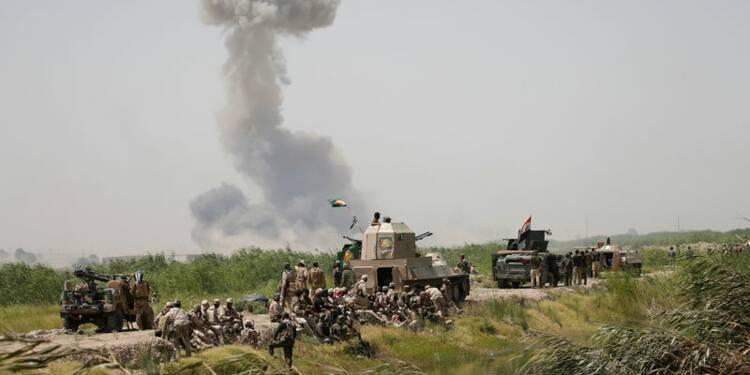 Inquiétude des sunnites irakiens sur le front de Falloudja