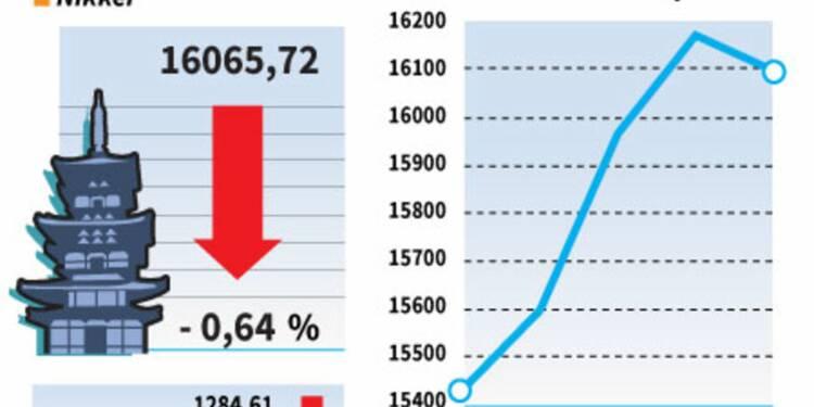 La Bourse de Tokyo en repli avant le référendum britannique