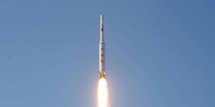 Tir d'une fusée nord-coréenne à longue portée