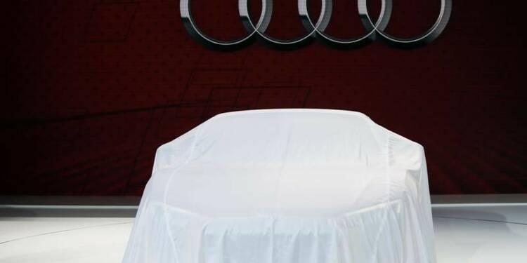 Audi vise une rentabilité élevée malgré de gros investissements