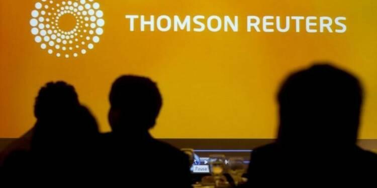 Thomson Reuters prévoit une croissance de son CA en 2016