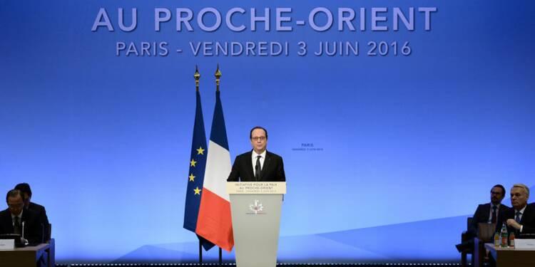 Le statu quo au Proche-Orient nourrit l'extrémisme, dit Hollande