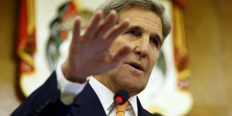 Accord provisoire sur une trêve en Syrie, dit John Kerry