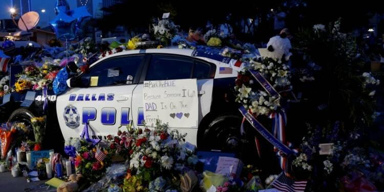 Cinq policiers tués à Dallas, le tireur aurait agi seul