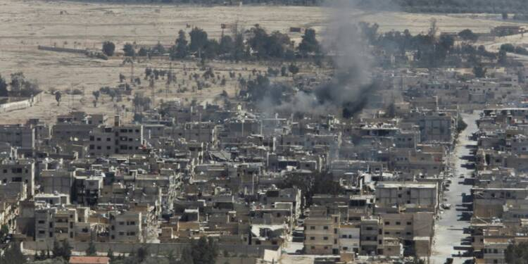 L'armée syrienne dit avoir découvert un charnier à Palmyre
