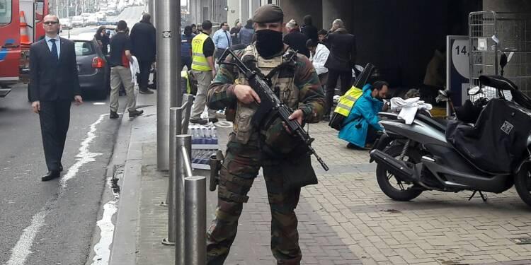 Chaos dans les transports et sécurité renforcée en Europe après les attentats à Bruxelles