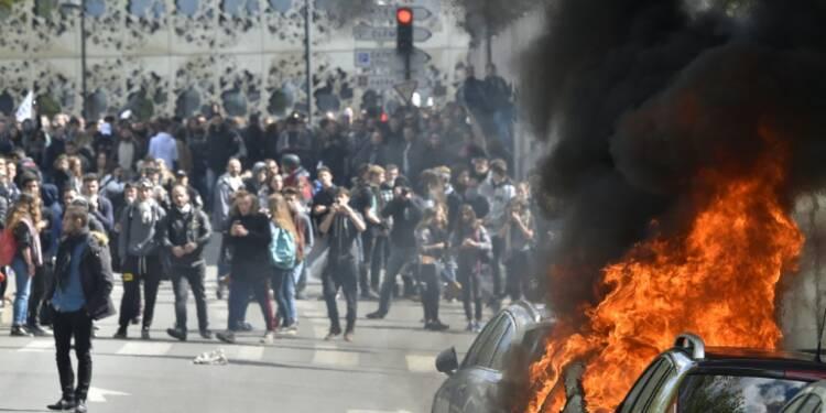 Violences autour de la loi travail: dialogue de sourds entre syndicats et gouvernement