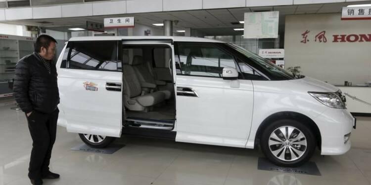 Honda a vendu plus d'un million de véhicules en Chine en 2015