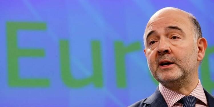 Déficit public sous 3% à portée de la main, dit Moscovici