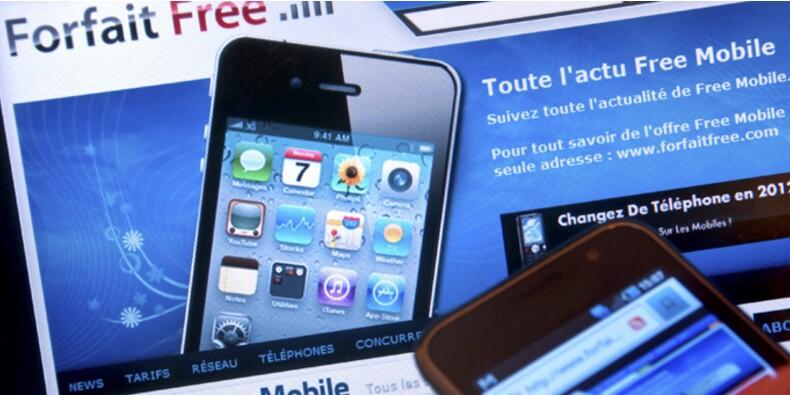 Forfaits mobiles : l'arrivée de Free a fait baisser la facture de plus de 10%