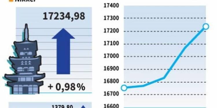 La Bourse de Tokyo finit en hausse de près de 1%