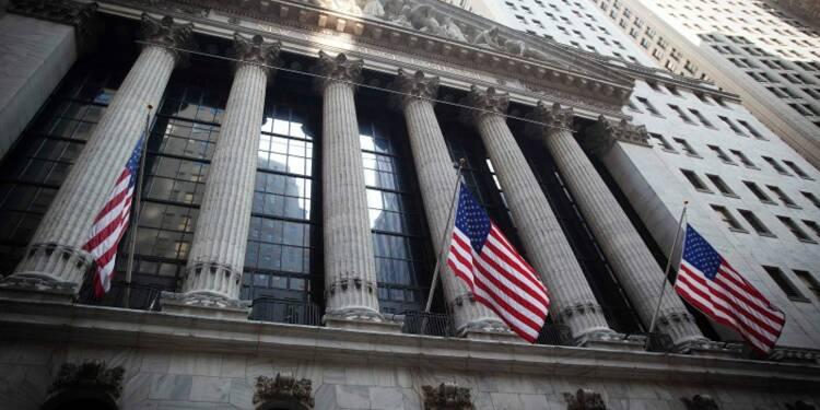 La Bourse de New York finit peu changée