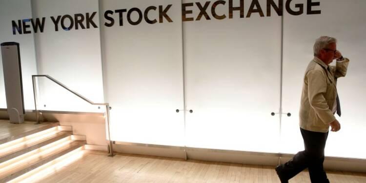 La Bourse de New York clôture en faible hausse