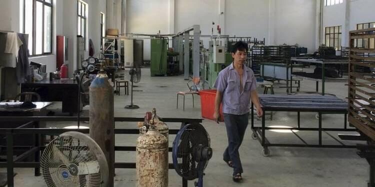 Nouvelle contraction du secteur manufacturier en Chine