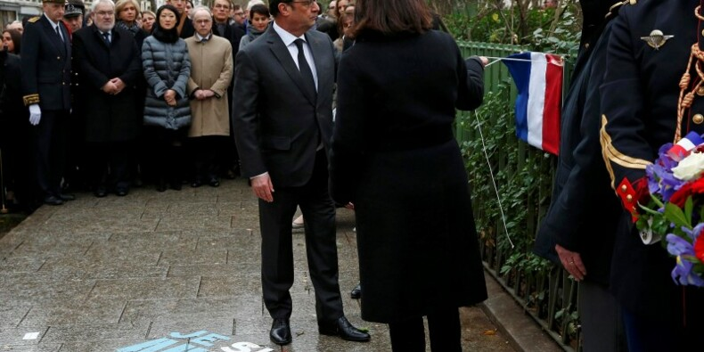 Hommages aux victimes des attentats de janvier