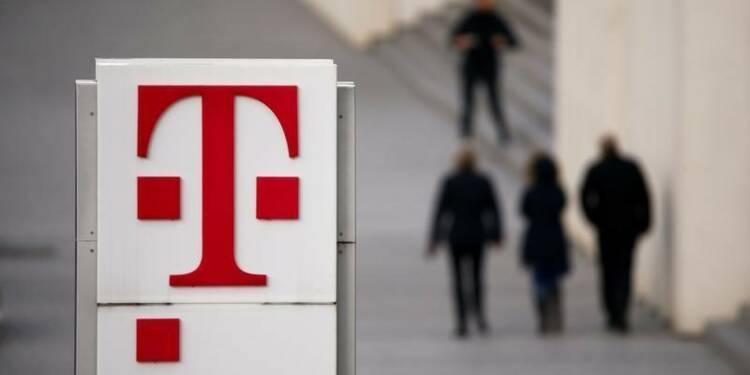 Deutsche Telekom bénéficie de ses activités aux Etats-Unis