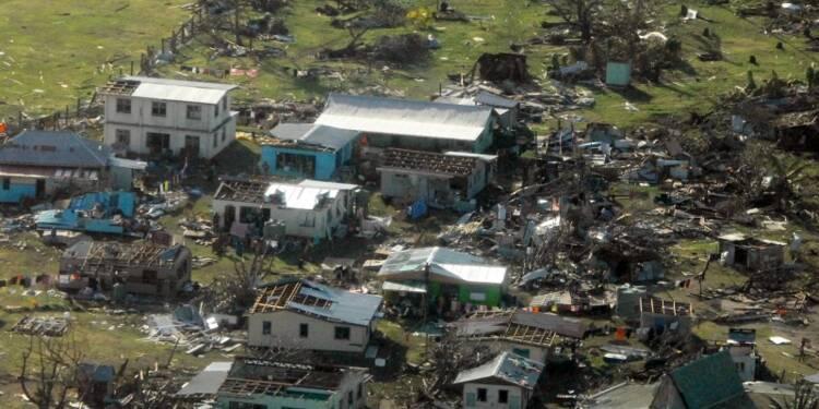 Le bilan s'alourdit aux îles Fidji balayées par un cyclone