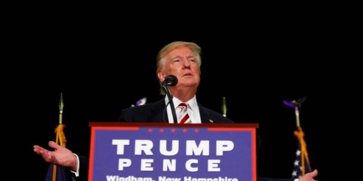 """Les soutiens de Trump minimisent son """"trou d'air"""""""